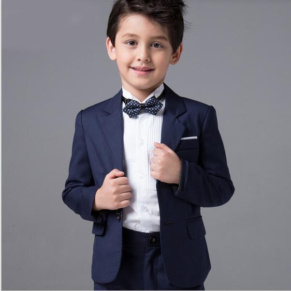 Boys Wedding Suits Baby Kids Blazers Skirts Pants Set Childern Boy