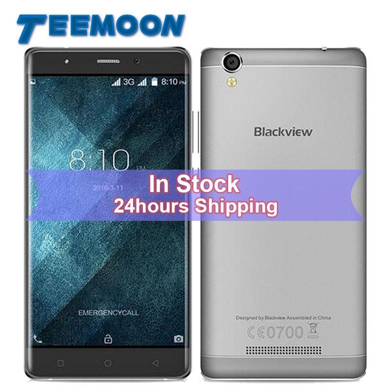 Цена за Оригинал blackview a8 3g смартфон android 5.1 mtk6580a quad core мобильный телефон 5.0 inch Экран 1 ГБ RAM 8 ГБ ROM 8MP Камерой Мобильного телефон