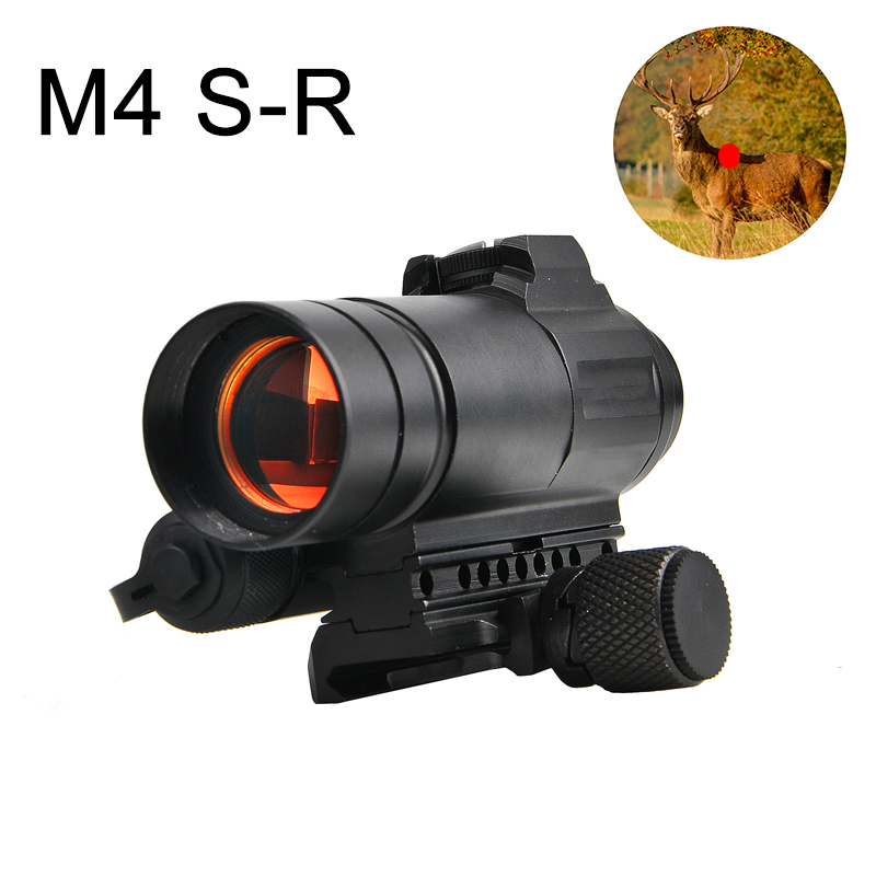 M4 Red Dot Rifle Scope AR15 Holographic Sight Scope Tactical Optics Riflescope Fit 20mm rail Rifle Scopes for Hunting