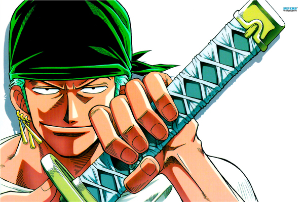 anime wall sticker home decor zoro canvas wallpapers one piece