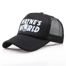 Wholesale Black Waynes World Baseball Caps Unisex Hip Hop Ha