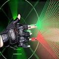 3 em 1 laser luva dança stage show vermelho verde 4 pcs luva de laser desempenho decorações do partido do evento Do Partido dos miúdos suprimentos
