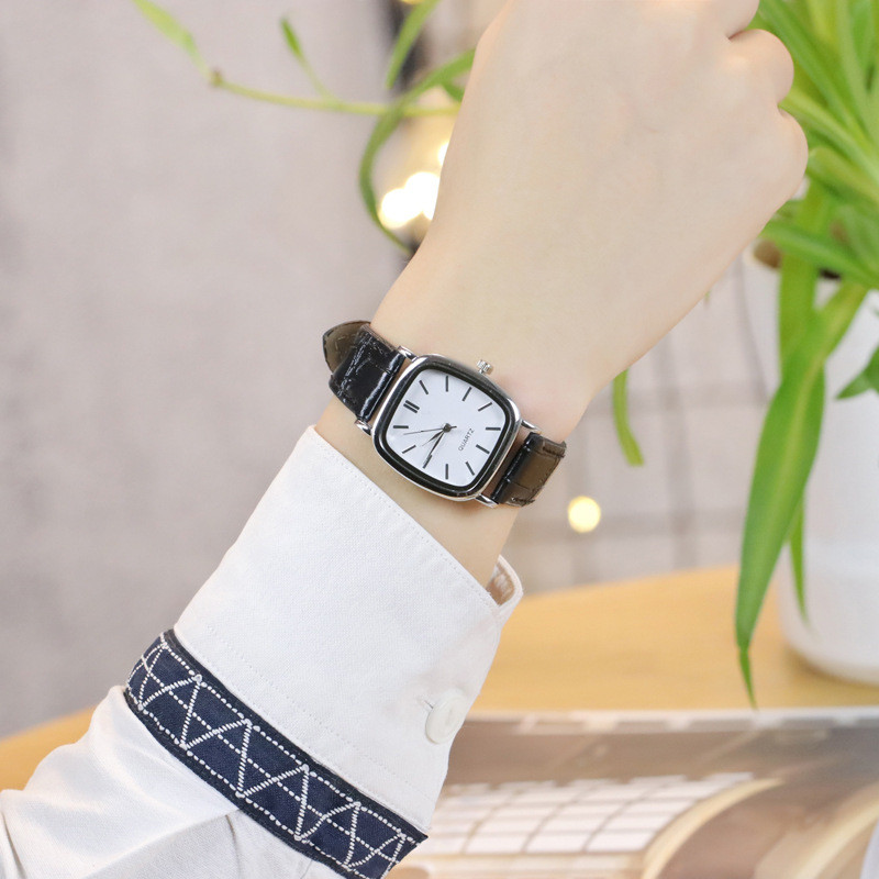 Dropshipping Couple Watch 2019 Lover's Watch Women Men Leather Quartz Wristwatches Minimalist Watch Relogio Masculino Feminino