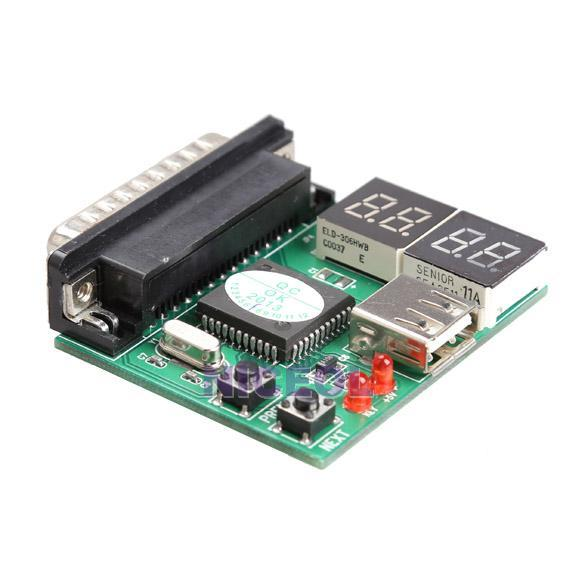 NI5L New PCI Motherboard Tester Diagnostics Display 4-Digit PC Computer Mother Board  Post Card Analyzer High Quality