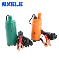 Free Shipping DC 12V Plastic Submersible Diesel Fuel Water Oil Pump Car Camping Portable 30L Per