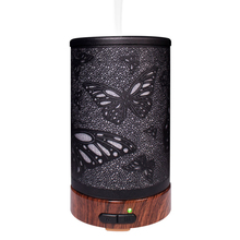 100 мл Электрический увлажнитель воздуха ультразвуковой эфирные масла диффузор аромат лечения 7 цветов ночник для офис бабочка