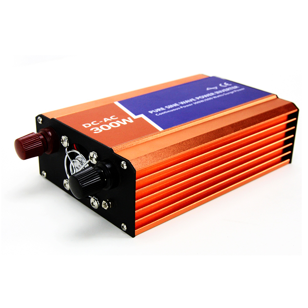 MAYLAR 300W Off-grid Pure Sine Wave Power Inverter AC 12V to DC 110V/220V Support For Wind Turbine or Solar Off Grid System maylar 1500w wind grid tie inverter pure sine wave for 3 phase 48v ac wind turbine 180 260vac with dump load resistor fuction