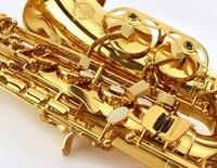 Suzuki Eb Alto Saxophone Brass Body French Style keys with Case Musical instruments
