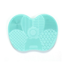 цена на Newest Silicone Brush Cleaner Cosmetic Make Up Washing Brush Gel Cleaning Mat Foundation Makeup Brush Cleaner Pad Cosmetic Tool