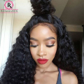 Pre Plucked 360 Lace Frontal Closure 8A Lace Frontals With Baby Hair Natural Hairline Peruvian Deep Wave 360 Lace Virgin Hair