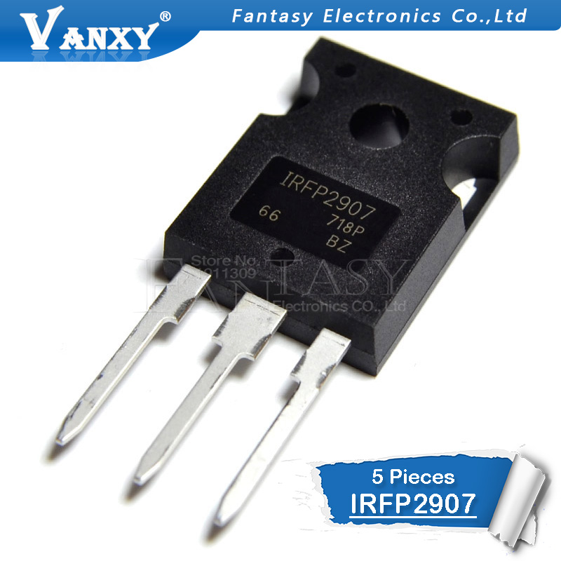 5pcs IRFP2907 TO-247 IRFP2907PBF TO247 IRF2907