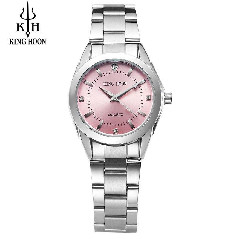 KÖNIG HOON Neue Mode uhr frauen Strass quarzuhr relogio feminino frauen armbanduhr kleid mode uhr reloj mujer