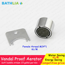 Vandal Proof And Vandal Resistant Housing Construction Water Faucet Aerator  For Kitchen And Bathroom Faucet Replacement