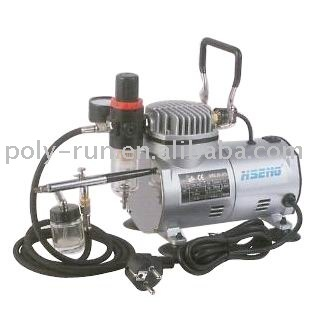 Tnt Free Shipping Dual Action 1 5hp Mini Airbrush Air Compressor Kit Portable Oilless For Make Up Tatoo Painting Dh18k 2 In Inflatable Pump
