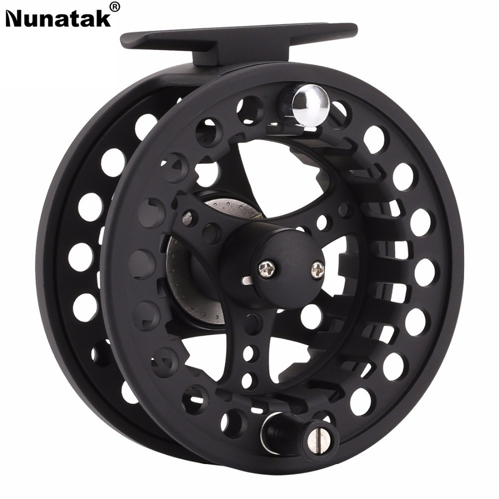 Nunatak Fly Fishing Reel MAXWAY Classic New 3/4 5/6 7/8 Full Metal 3BB 1: 1 Aluminum Body Fishing Flare Tackle Reel