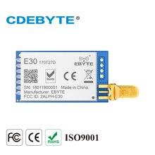 E30 170T27D de longa distância si4463 170 mhz 500 mw sma antena iot uhf sem fio transceptor transmissor receptor