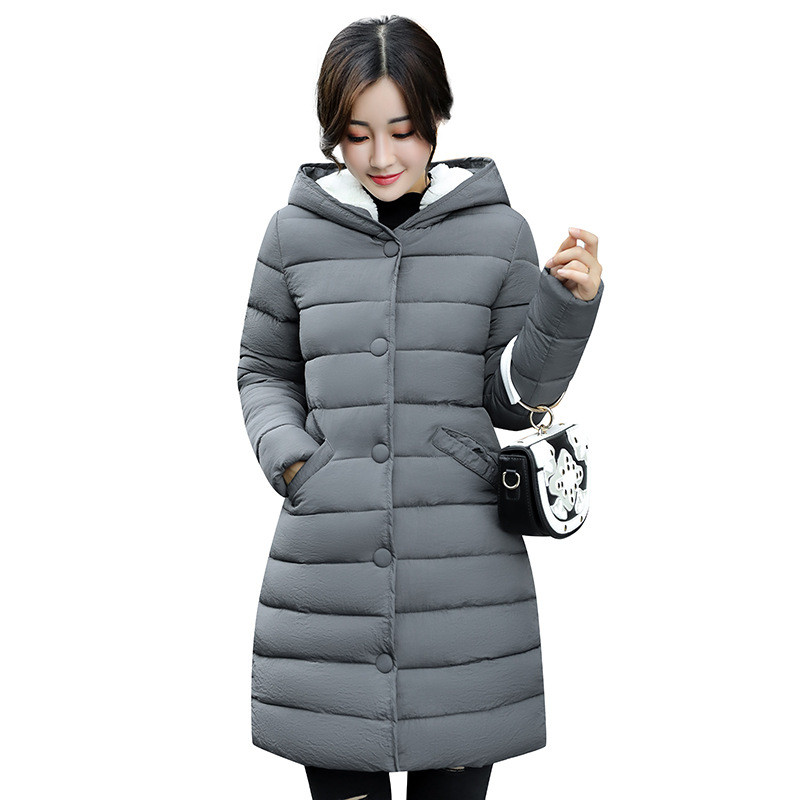 Fashion Army Green Thick Wadded Winter Jacket Women Hooded Warm Cotton Padded Casual Parka Large Size Winter Coat TT3318 стоимость