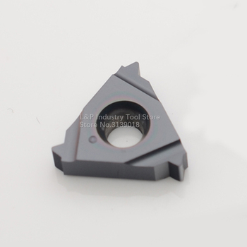 New Original Vargus Vardex 3ER 14NPT VTX Thread Carbide Inserts 3ER 14 NPT VTX Cutting Blade Tool Black image