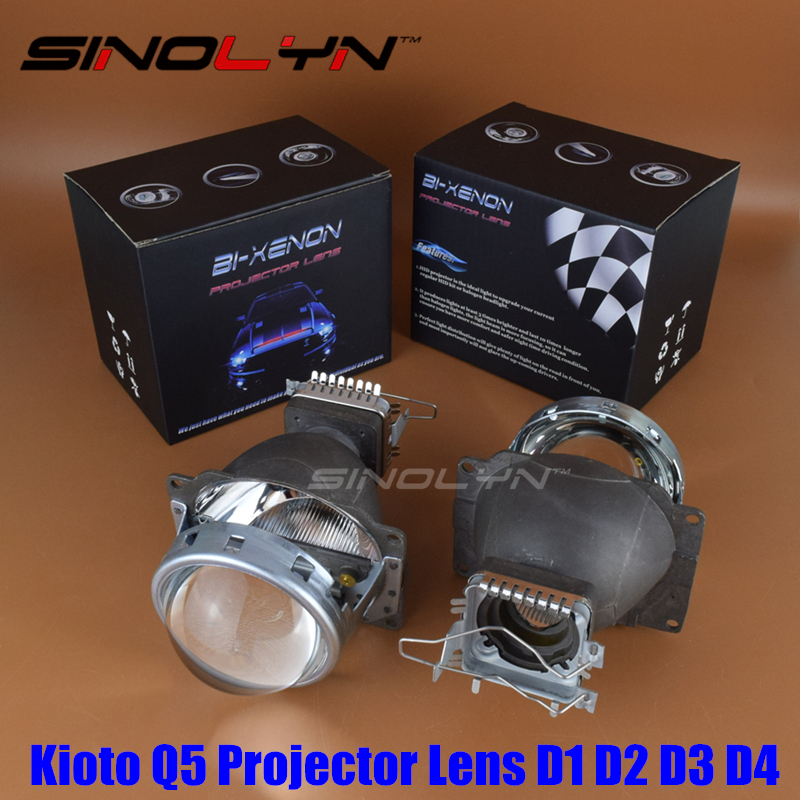 Car Styling HID Bi xenon 3 0 inches Projector Lens Headlight Retrofit Lenses Kit Q5 Use