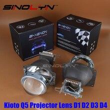 Стайлинга автомобилей HID Bi xenon 3.0 дюйм(ов) Объектив Проектора Фара Дооснащения Линзы Комплект Q5, используйте D1S D2S D2H D3S D4S Лампы Супер Яркий