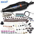 BDCAT 180 w Dremel Rotary Grinder Ferramenta Mini Broca Elétrica Moagem Máquina de Gravura Polimento com 207 pcs Ferramentas De Poder Acessório