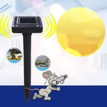 環境にやさしいソーラーパワー超音波ゴーファーモグラスネークマウス害虫リペラーは制御庭ウサギ suirrels スカンク