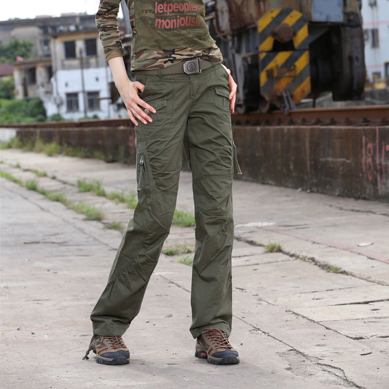 Freearmy Autumn Women   Pants   Pleated Slim Cotton Casual   Pants   Trousers Vintage Full Length Overalls Spring Women's   Pants   &   Capris