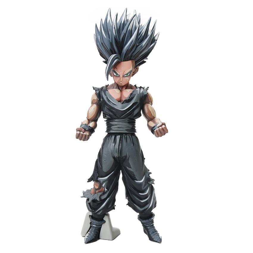 Manga Dragon Ball Z Vegeta Goku Gohan Broly Trunks Action Figures 34cm 15