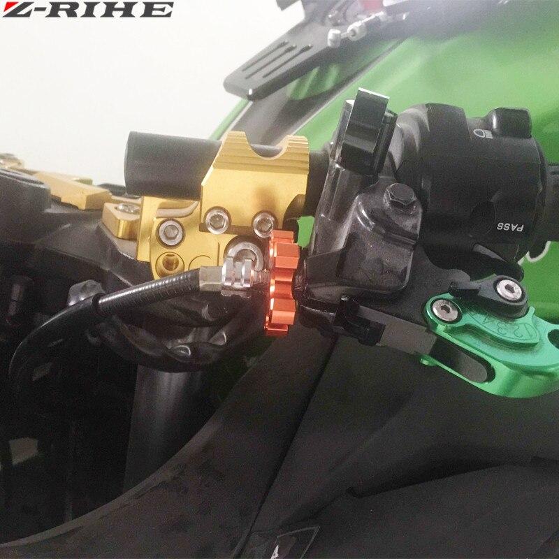 Univerzalni motocikl CNC aluminij M8 * 1.25 spojka žice podešivač - Pribor i dijelovi za motocikle - Foto 6