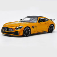 1:24 Alloy Toy Vehicles Mercedes Benz AMG GTR Sports Car Model Of Children's Toy Cars Original Authorized Authentic Kids Toys