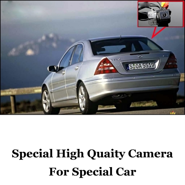 Car Camera For Mercedes Benz C Class MB W203 2001~2007 High Quality Rear View Back Up Camera For Friends Use | CCD + RCA