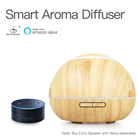 GX.Diffuser 300ML Air Humidifier Ultrasonic WiFi Smart Aroma Diffuser WiFi APP Aromatherapy Oil Diffuser Electric Mist Maker