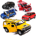 Alloy car Benz  Audi car models children's toy car model doors can be opened high-quality products