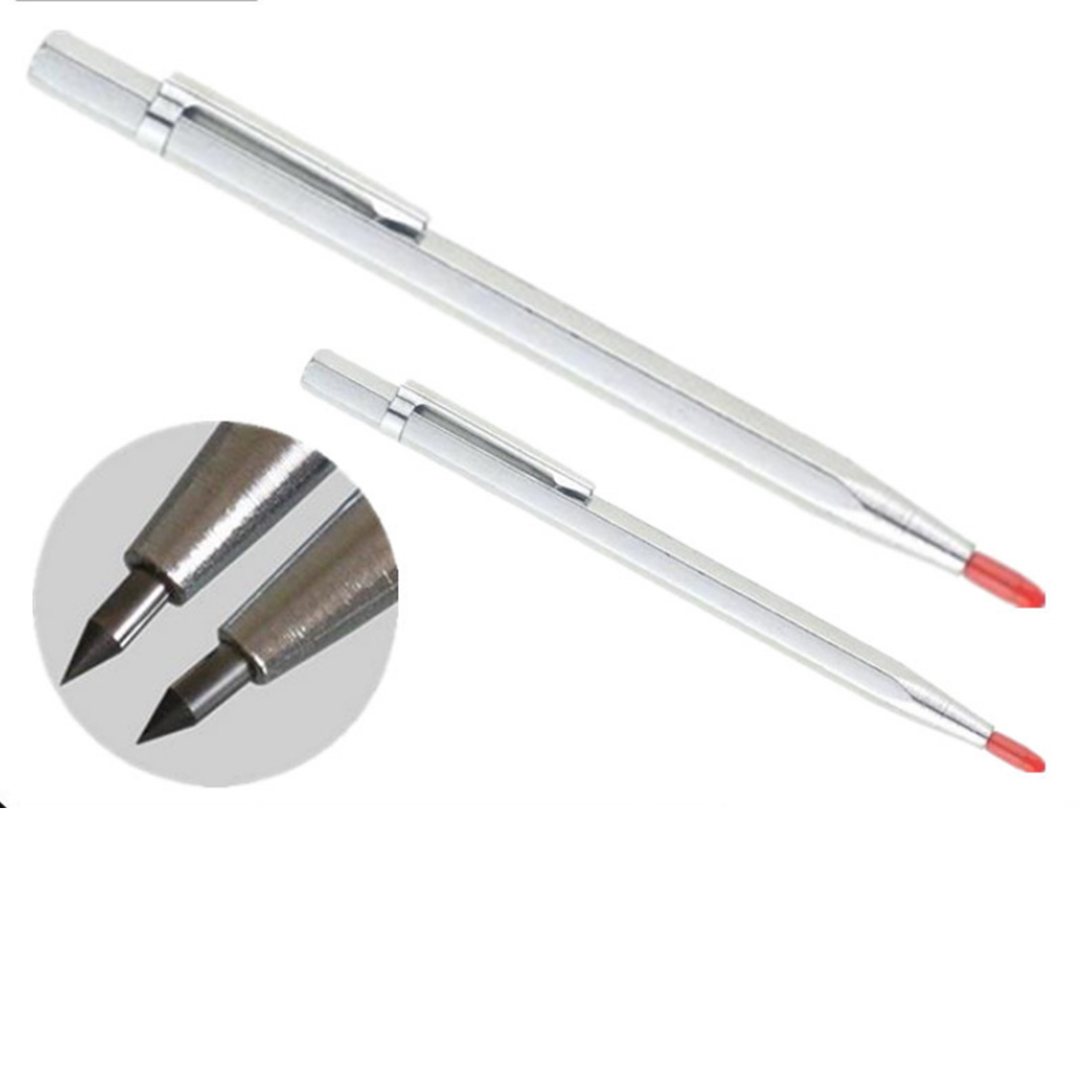 Tungsten Carbide Tip Scriber Etching Engraving Pen Marking Jewelry Lettering Metal Scribe Tool Hand Tool