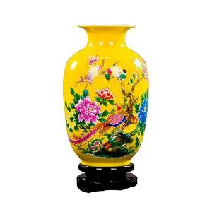 Image 2 - Jingdezhen 도자기 꽃병 세라믹 꽃 홀더 13 모델 홈 데스크 크리스마스 장식 선택