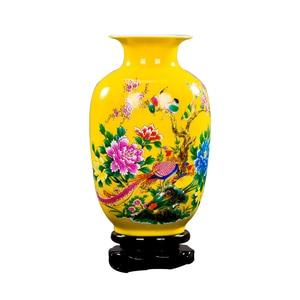 Image 2 - Jingdezhen Porcelain Flower Vase Ceramic Flower Holder 13 Models Choosing Home Desk Christmas Decoration