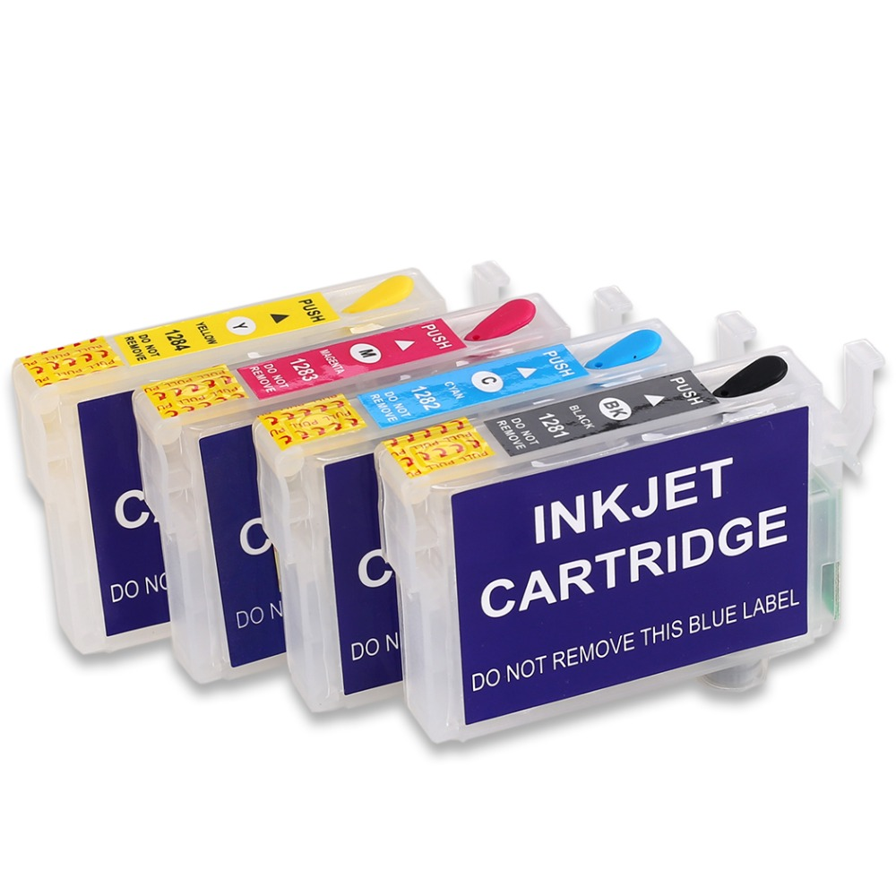US $4 92 |T1285 Refill Ink Cartridge FOR EPSON S22 SX125 SX130 SX235W  SX420W SX440W SX430W SX425W SX435W SX438 SX445W BX305FSX230 printer-in Ink