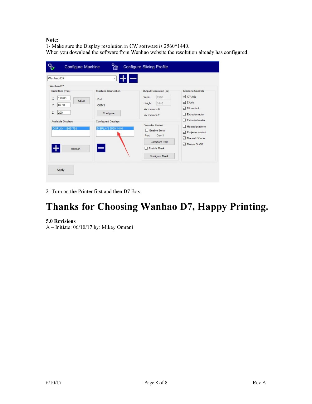 tipo dlp sla 3d impressora controlador
