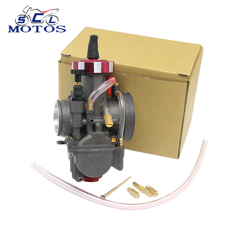 Sclmotos -Motorcycle PWK 28 30 32 34 mm Carburetor Carburador for 100-400cc Motorcycle Scooter UTV ATV Power Racing original 26mm mikuni carburetor for cbt125 cb125t cbt250 ca250 carburador de moto