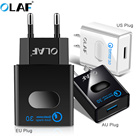 Olaf USB charger quick charge 3.0 Fast charging for Iphone X qc 3.0 USB Wlall Charger Adapter for Samsug S8 For Huawei p20 lite