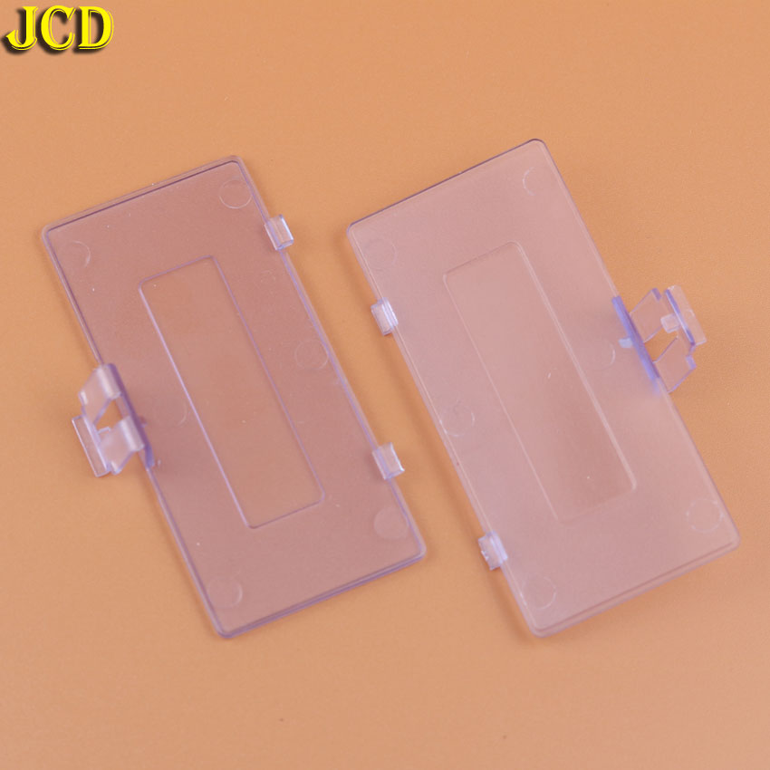 Image 5 - JCD 1pcs For Nintend GameBoy Pocket GBP Console Battery Door Lid Replacement Battery back Cover for GBP-in Cases from Consumer Electronics