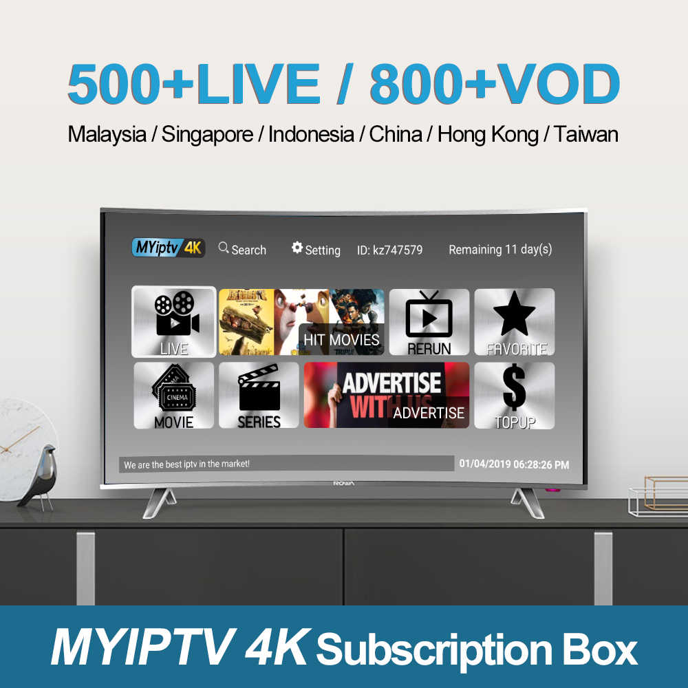 Renew myiptv yearly subscription for Singapore and Malaysia