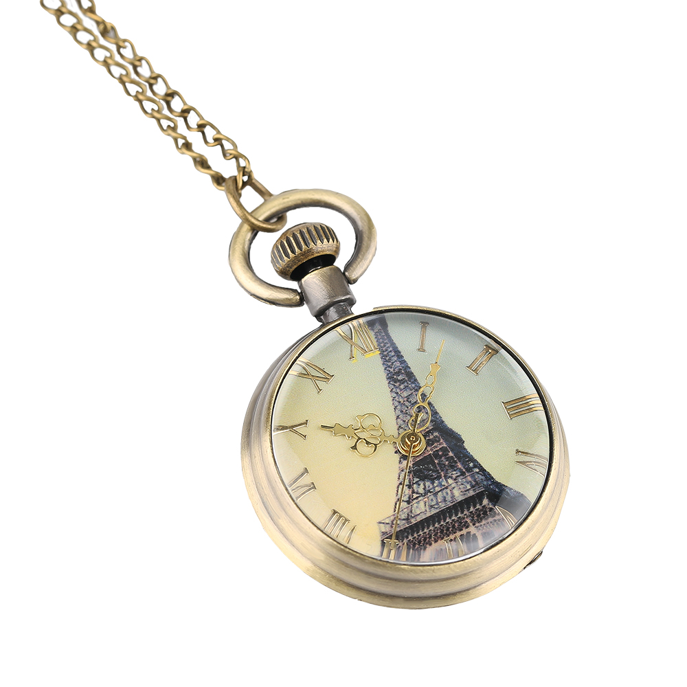 numerals fob watch quartz jewelry vintage from item roman women antique clock pendant watches necklace for men gifts chain pocket in ll