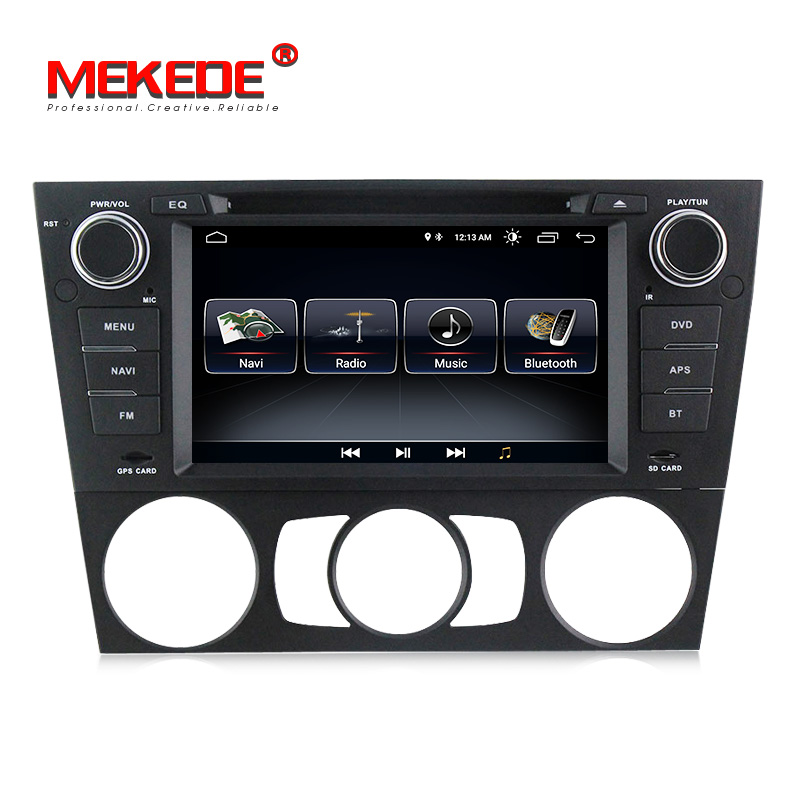 Lowest price online android8 1 quad core car dvd player for BMW 3 Series E90 E91