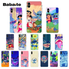 Babaite LILO AND STITCH OHANA FAMIL Novelty Fundas Phone Case Cover for iPhone 8 7 6 6S Plus 5 5S SE XR X XS MAX Coque Shell(China)