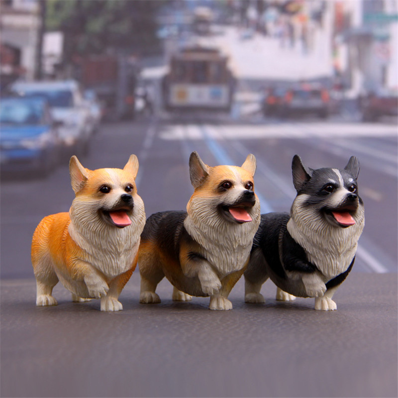 ZOCDOU 1 Piece Dog Welsh Corgi Pembroke Child Guard Britain England UK United Kingdom Model Figurine Crafts Figure MiniaturesZOCDOU 1 Piece Dog Welsh Corgi Pembroke Child Guard Britain England UK United Kingdom Model Figurine Crafts Figure Miniatures