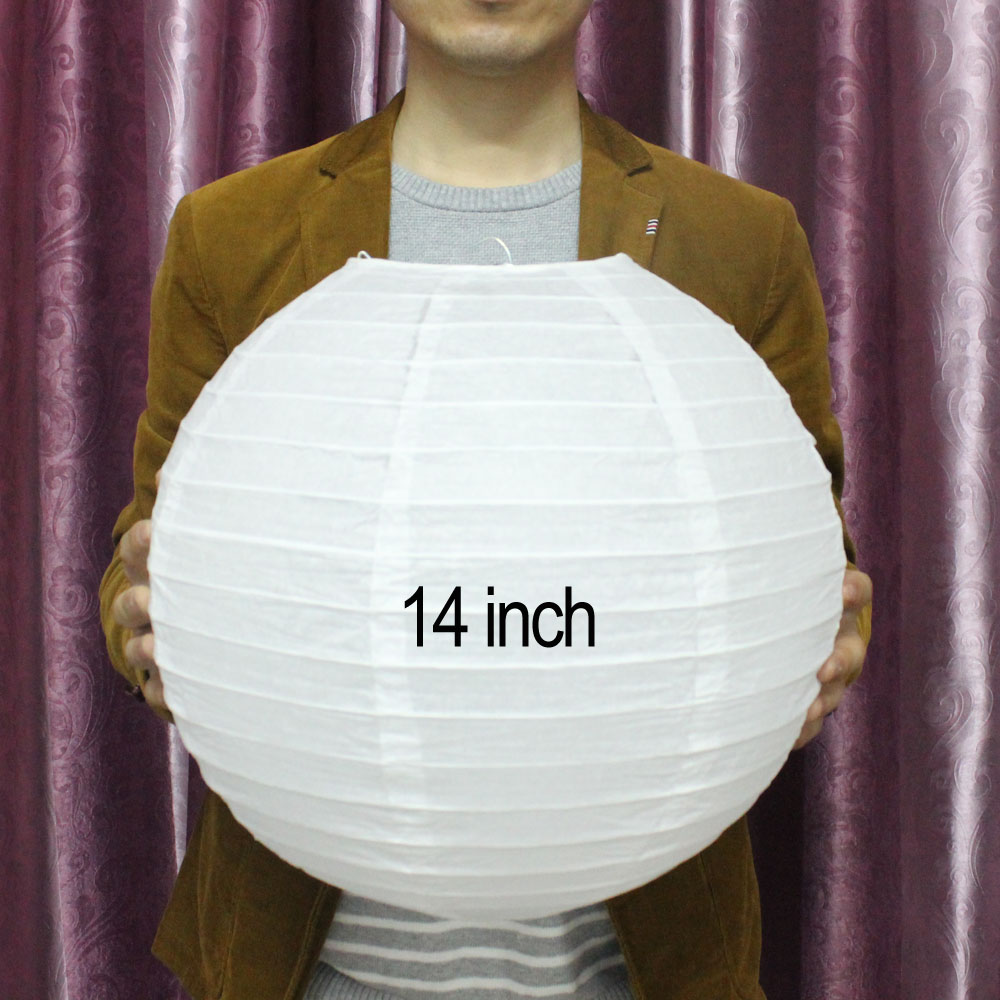 """25 pcs 6/"""" inch Chinese Paper Lantern Red Wedding Party Event Decoration nl"""
