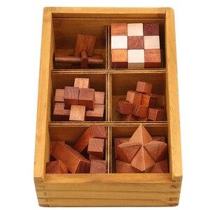 Image 1 - Houten Kong Ming Lock Game Speelgoed Voor Kinderen Volwassenen Kids Drop Verzending Iq Brain Teaser Elkaar Grijpende Burr Puzzels