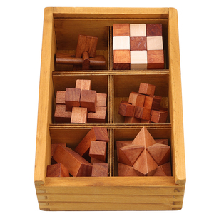 Wooden Kong Ming Lock Game Toy For Children Adults Kids Drop Shipping IQ Brain Teaser Interlocking Burr Puzzles(China)
