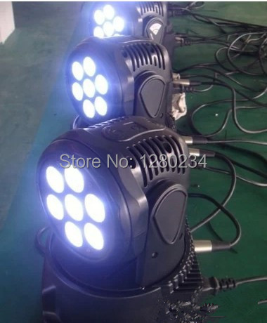 8pcs/lot China supplier led moving head dj equipment 7*10W 4 in 1 RGBW led mini moving head wash light marie koulikoff souviron human resource management in buyer supplier relationships